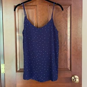 NWOT Polka Dot Tank Top